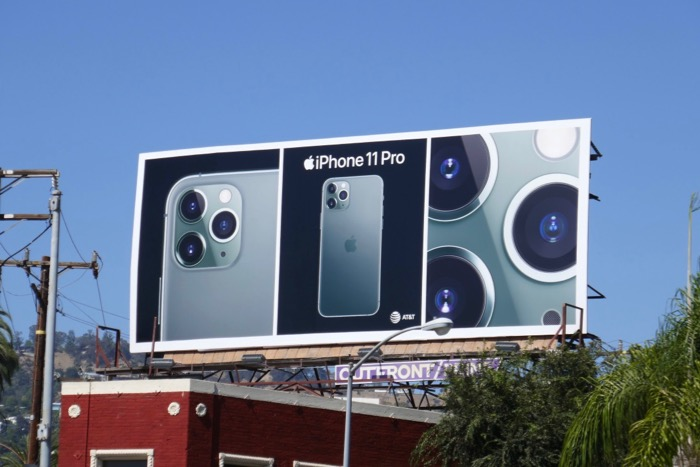iPhone 11 Pro billboard