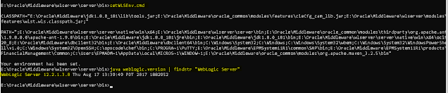 5 Ways To Find Oracle WebLogic Server Version in EPM 11.2