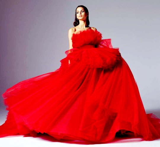 Glamorous Red Gowns