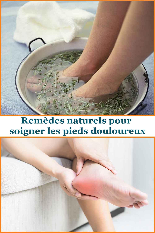 remèdes naturels pour soigner les pieds douloureux