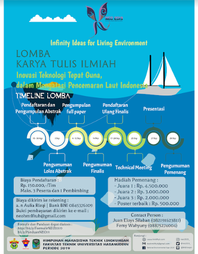 Lomba Karya Tulis Ilmiah Nasional 2019 di Universitas Hasanuddin