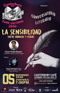 Sensibilidad, Entre Crónicas y Versos | Conversatorio Literario
