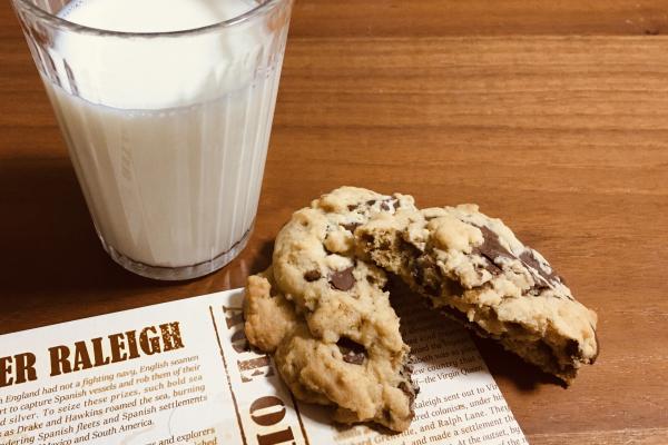 手作りチョコレートチップクッキー