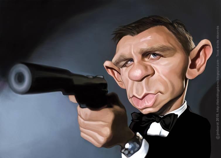 Daniel Craig por Jean-Marc Borot