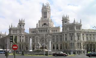 Palacio de Comunicaciones de Madrid.
