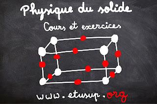 physique du solide cours et exercices corrigés pdf
