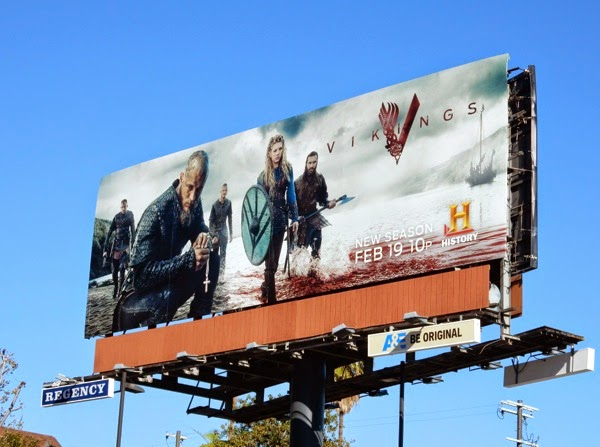 Daily Billboard: TV WEEK: Vikings season three billboard