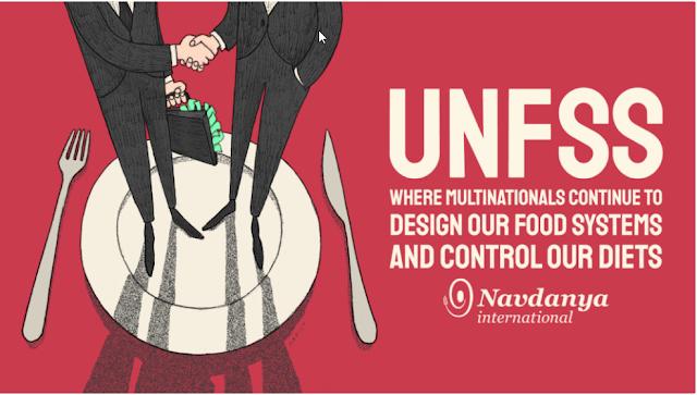 Pre-Cumbre de Sistemas Alimentarios de la ONU: Allí donde las multinacionales siguen diseñando nuestros sistemas alimentarios y controlando nuestras dietas