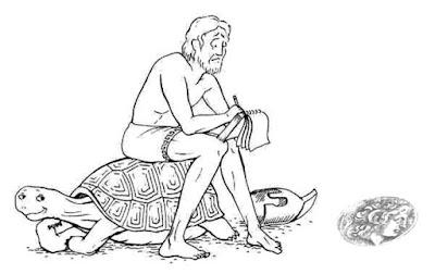 Ахиллес и черепаха. Апории Зенона. Математика для блондинок.
