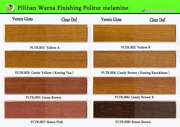 Warna Finishing Politur Melamik 1