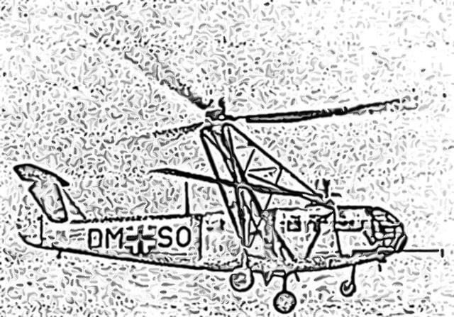 Focke-Achgelis Fa 223 Drache wonder weapons worldwartwo.filminspector.com