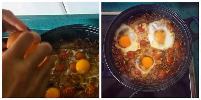 Huevos Braseados