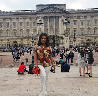 Daniella Okeke Paris and London Vacation photos