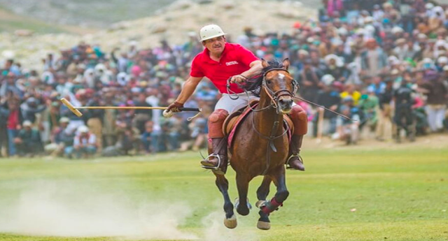 Where is the Shandur Polo Festival held every year?