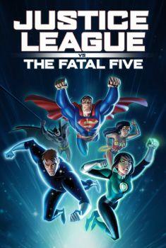 Liga da Justiça vs. Os Cinco Fatais Torrent - BluRay 720p/1080p/4K Dual Áudio