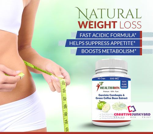 health product flyer