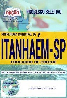 processo seletivo Educador de Creche da Prefeitura de Itanhaém (SP)