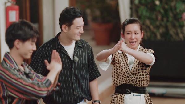 最新一季《中餐廳》左起王俊凱 黃曉明 秦海璐 節目畫面