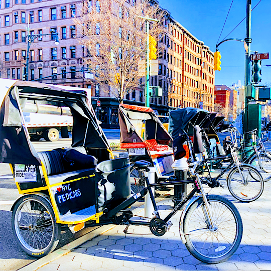 NYC Pedicab Tours and Services