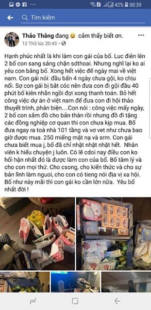 Tiểu thư Thanh Thảo con ông Nguyễn Mạnh Thắng khoe mỗi năm phá 20 tỉ trên Facebook 5