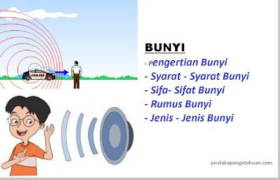 jenis - jenis dan contoh bunyi