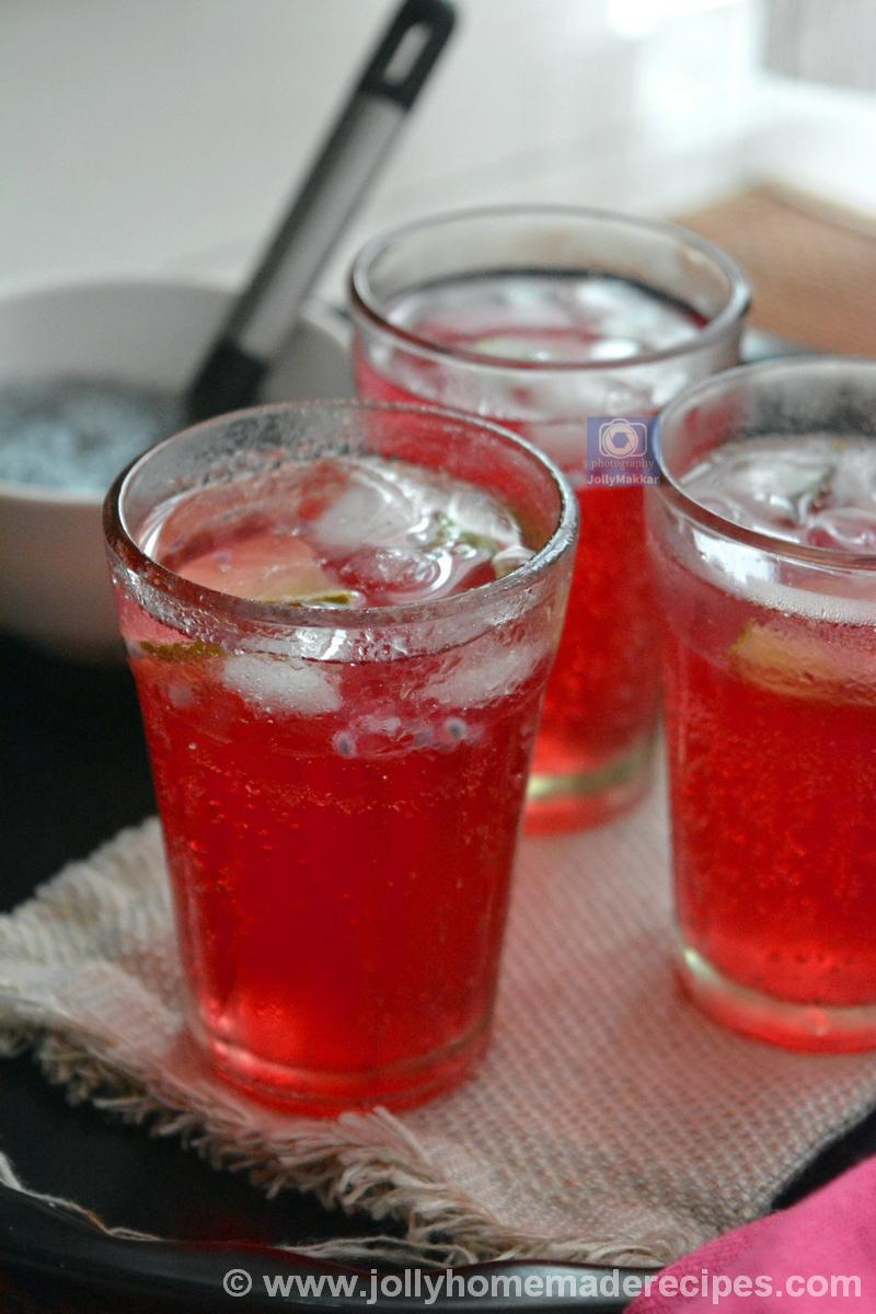 Rooh Afza Summer Drink
