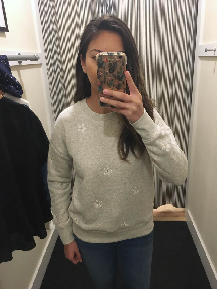 cute grey sweater