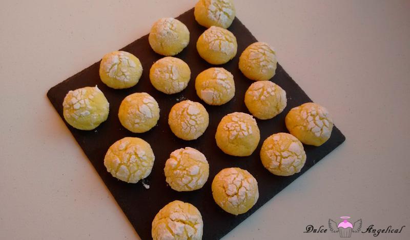 Recetas de las galletas craqueladas de limón