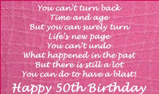 50th Birthday Wishes For Mother - Deep 50th Birthday Wishes For Mom