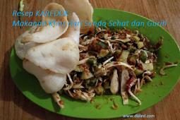 Resep Karedok Makanan Khas dari Sunda yang Sehat dan Gurih