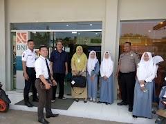 Polsek Limpung Berikan Himbauan Kepada Nasabah Bank BNI