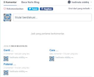 Cara Memasang Komentar di Blogger Menggunakan Disqus