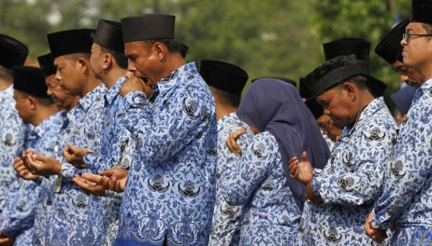 29,38 Triliun THR PNS, Pensiun, TNI dan Polri Cair Besok