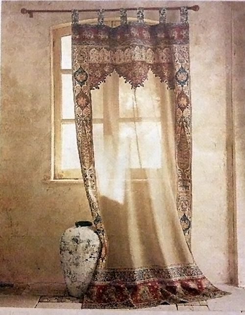 How To Tie Curtains That Are Too Long Dye Top Up