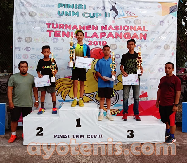 Muh Dhafin Habibi Juara Kejurnas Pinisi UNM Cup II Makassar 2019