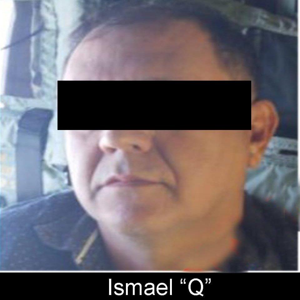 Fuentes informan que el Sobrino de Rafael Caro Quintero es Ismael Quintero de 40 años y ya se encuentra en la CDMX, fue capturado en un operativo relámpago por la Marina en Culiacán