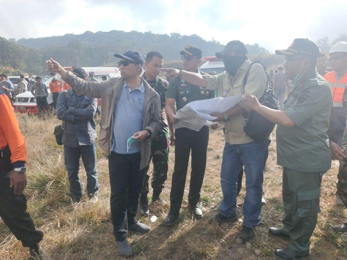 Karhutla Lereng Gunung Slamet Meluas, Danrem 071/Wk Pantau dan Siagakan Pasukan