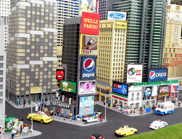 Legoland Florida Miniland Tour