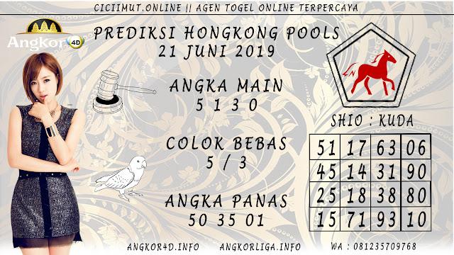 PREDIKSI HONGKONG POOLS 21 JUNI 2019