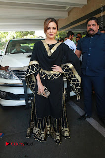 Bollywood Actress Sana Khan Launches Aakrithi Exibition  0214.JPG