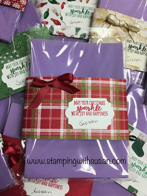Stampin' Up!, Christmas Gifts, Simply Shammy, www.stampingwithsusan.com, Stamping with Susan's Sparklers