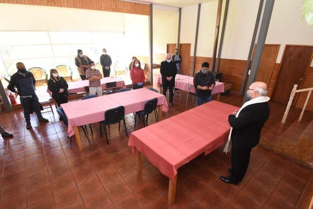 Habilitan albergue Covid-19 para personas en situación de calle en Puerto Montt