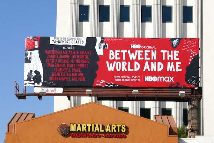 Between the World and Me HBO billboard