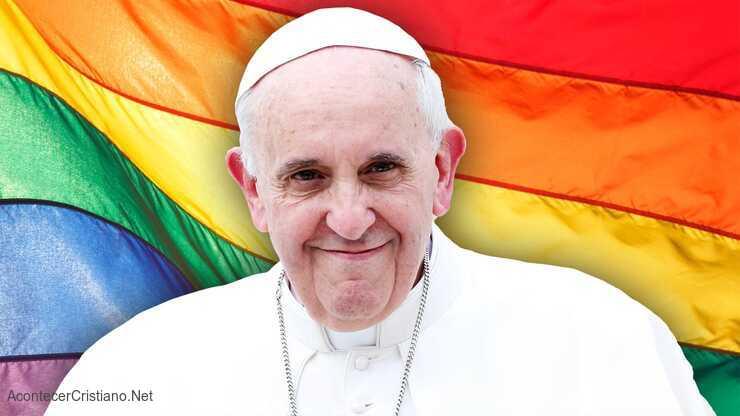 Papa Francisco a favor de unión civil entre homosexuales