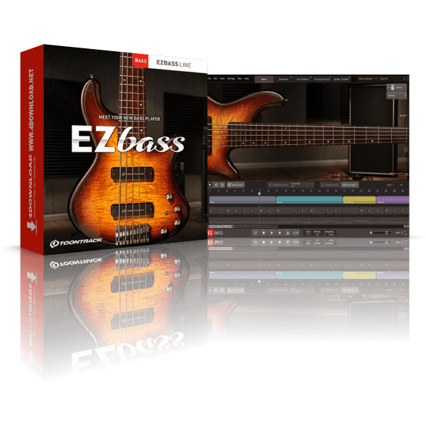 Toontrack EZbass v1.0.0 Full version
