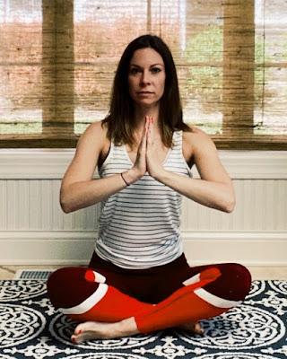 Laura Kowalski began practicing yoga as a method to feel more balanced.