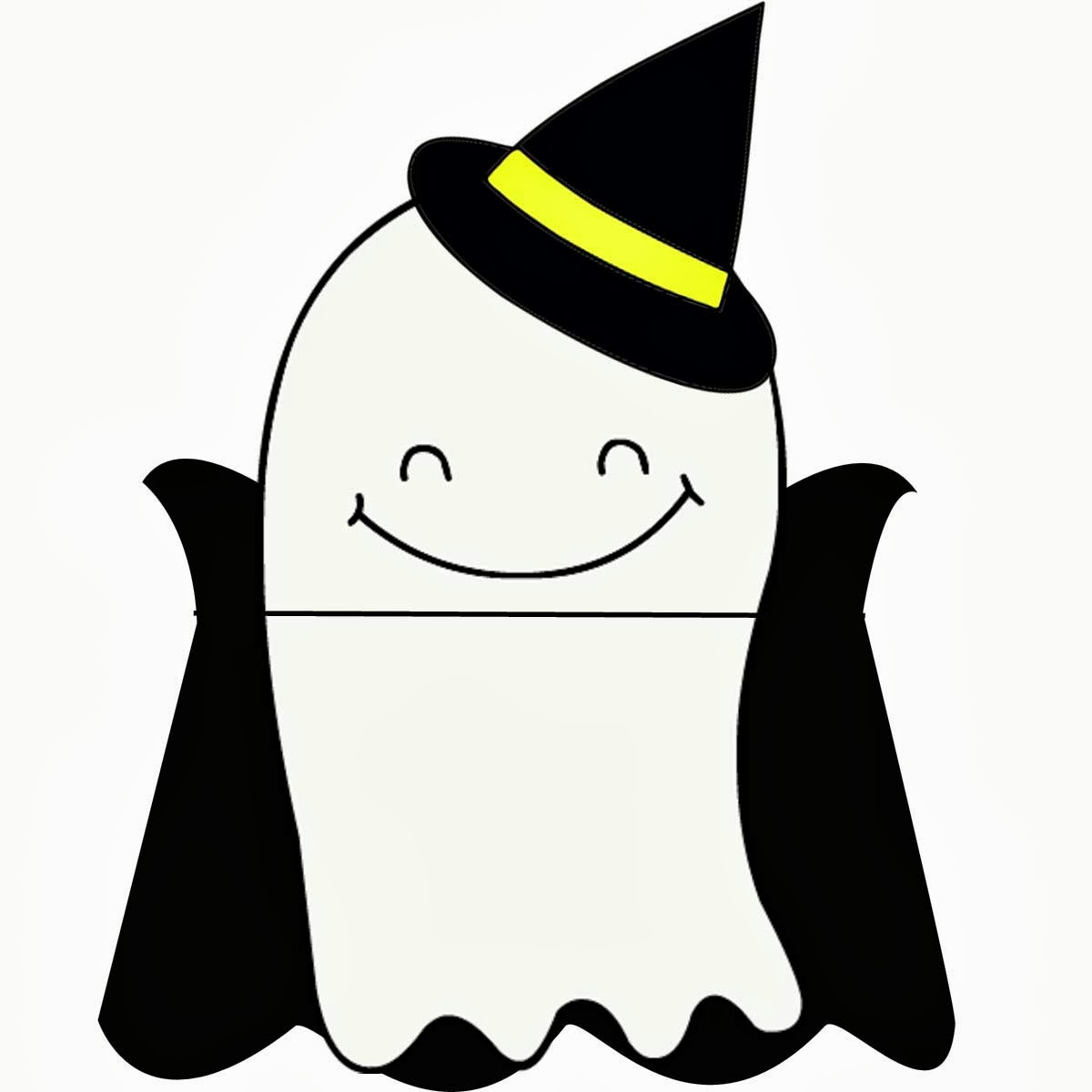 picture regarding Printable Ghost titled Printable Halloween Ghosts via Carissa Miss out on - Joy is