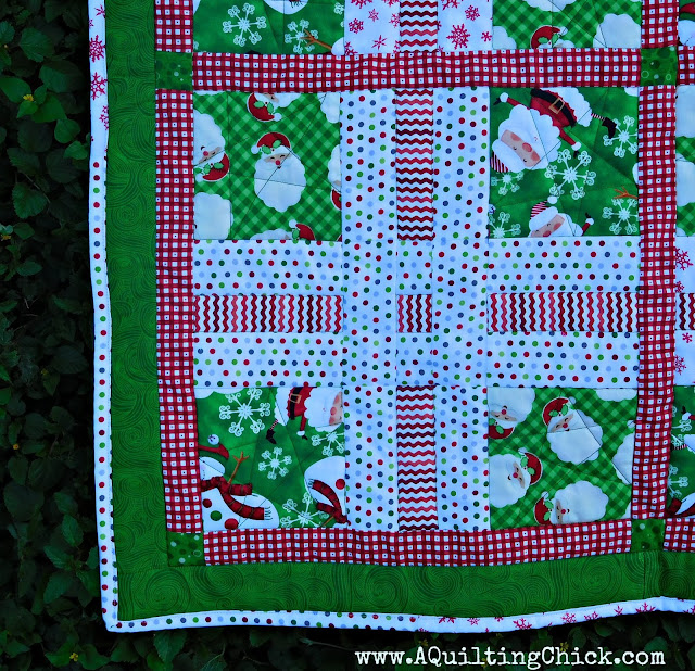 Dear Santa - Block Closeup