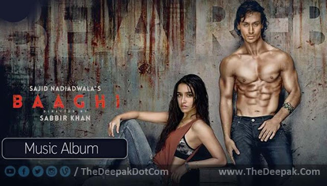 BAAGHI-2016 Movie all Songs
