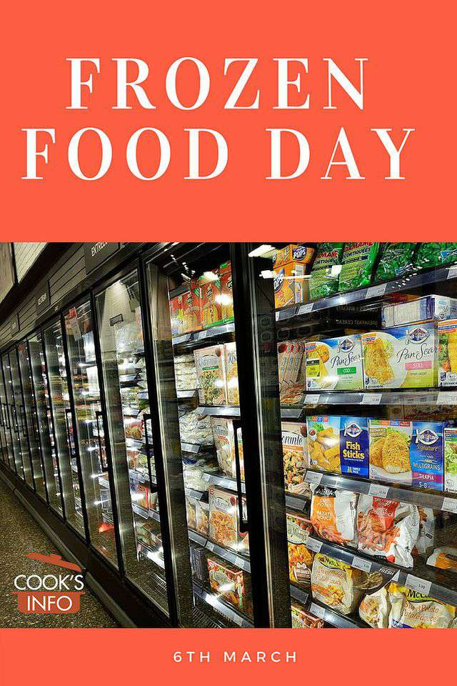 National Frozen Food Day Wishes Photos